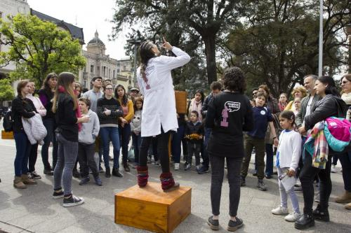 Soapbox Science on the streets