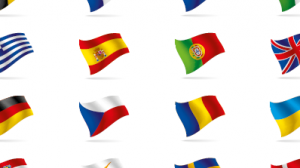 Diversity flags countries